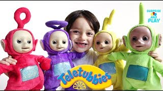 Dancing Teletubbies Toys Collection and Learn Colours
