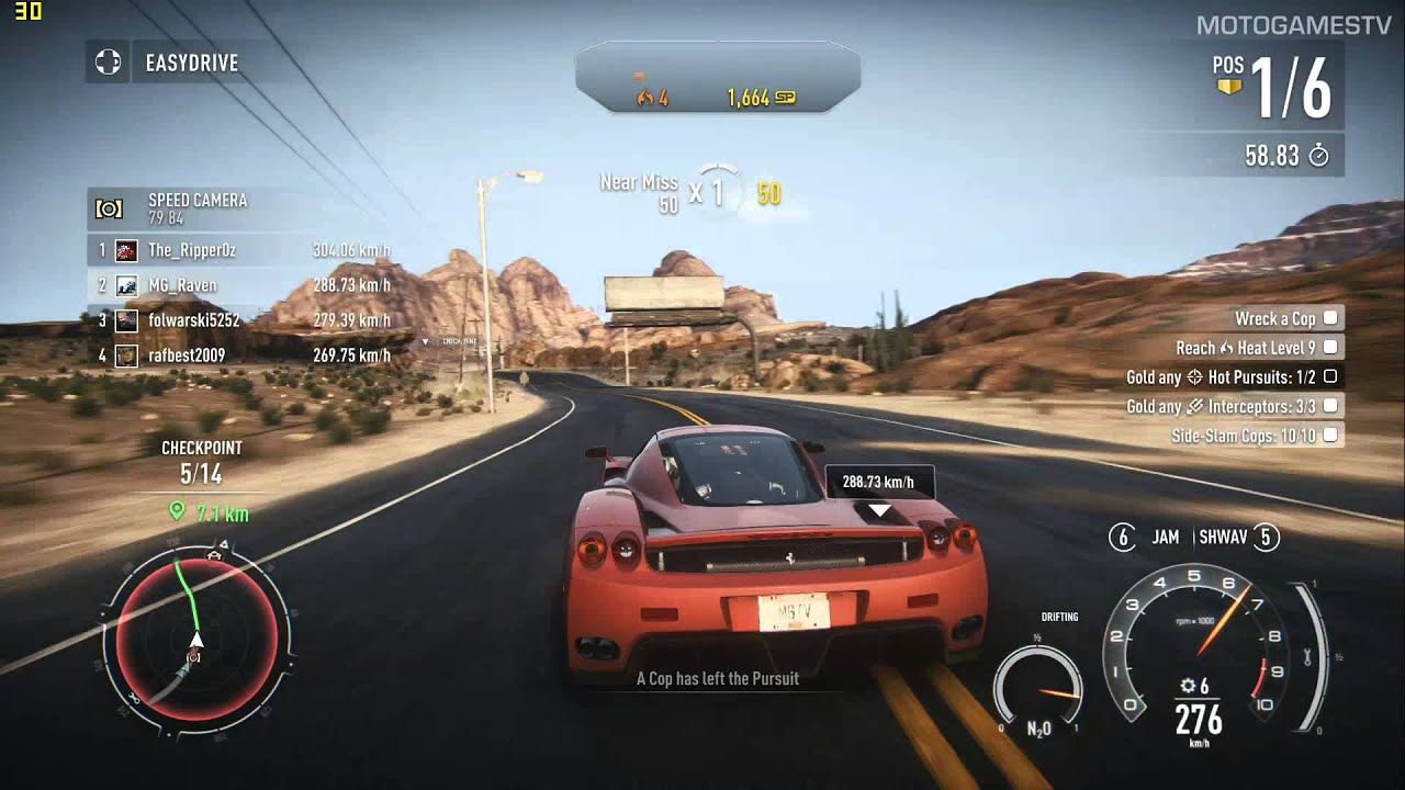 need for speed rivals pc ferrari enzo gameplay youtube. Black Bedroom Furniture Sets. Home Design Ideas