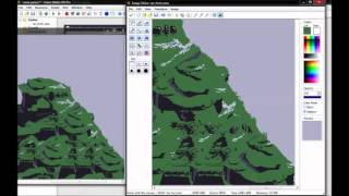 PIXEL ART // doing epic landscapes :: Part 1