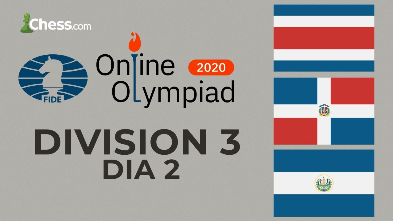 Olimpiadas Online de Ajedrez de la FIDE | DIV 3, Día 2 | WIM Gabriela & IM Kropff