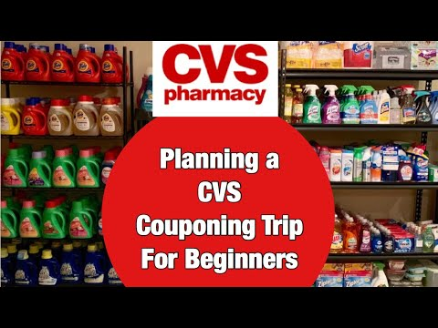 How to Plan a Winning CVS Shopping Trip for Beginners | Couponing 101