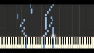 Sinfonia in C major, BWV 787 - Piano Tutorial Synthesia