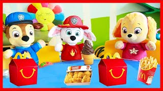 Paw Patrol McDonalds Happy Meal Full Set with Skye and Chase
