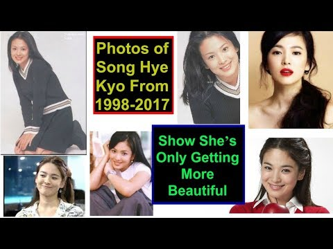 Photos of Song Hye Kyo From 1998-2017 Show She's Only Getting More Beautiful