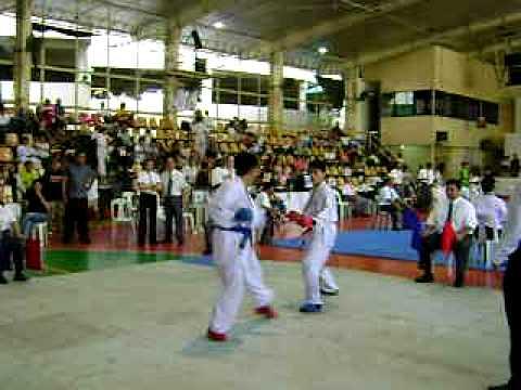 dar-3rd fight in kumite-international karate-do tournament ...