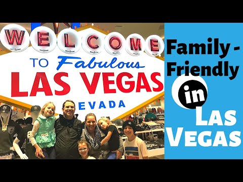 Things To Do In Las Vegas With Kids//7 Great Ideas For A Family Friendly Las Vegas Trip!!!