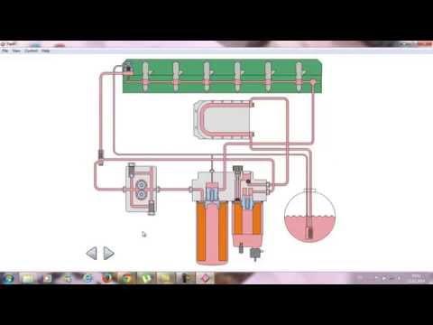 топливная система вольво fh 12 d12d схема