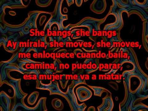 Ricky Martin - She Bangs (karaoke)