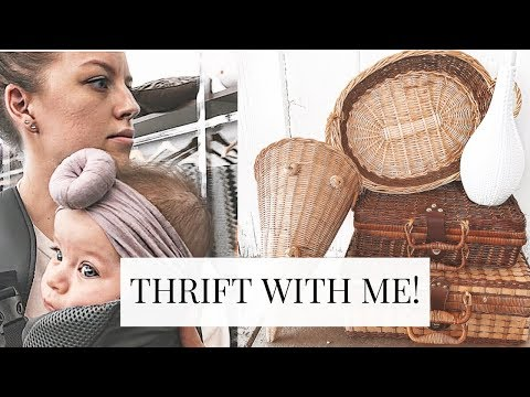 THRIFT WITH ME at GOODWILL | Boho Home Decor Thrift Haul