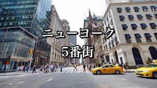 ニューヨーク5番街でお買い物【ニューヨークVLOG】