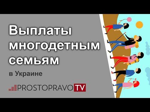 Выплаты многодетным семьям в 2019 году в Украине