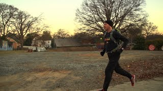 This Atlanta runner skips traffic by running to work