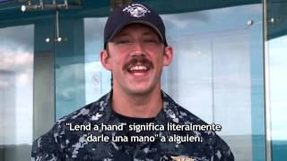 "EXPRESIONES IDIOMATICAS - ENGLISH TIPS - ""LEND A HAND"""