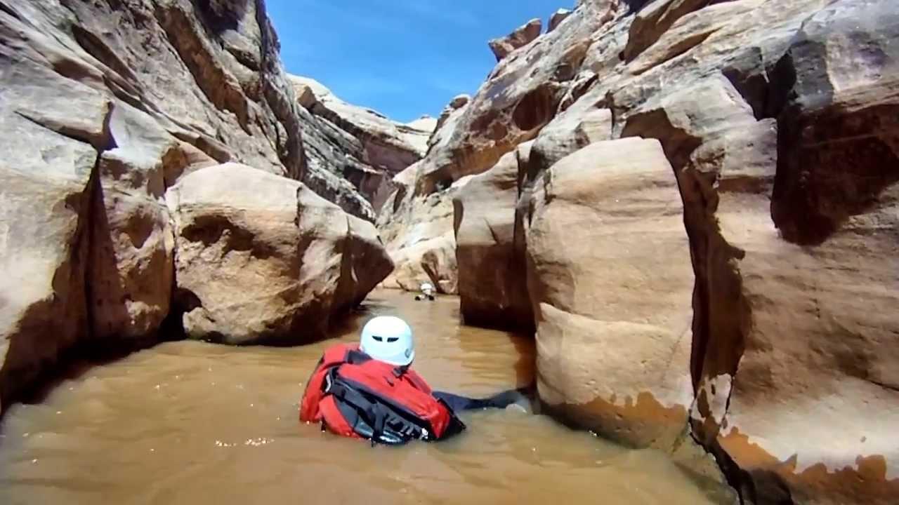 Black Hole of White Canyon 2013 - YouTube