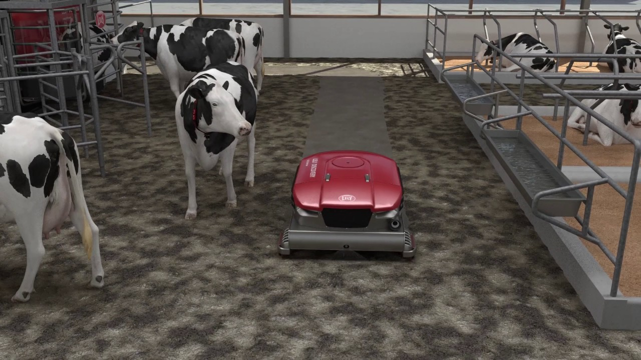 Lely Discovery 120 Collector animation - FR