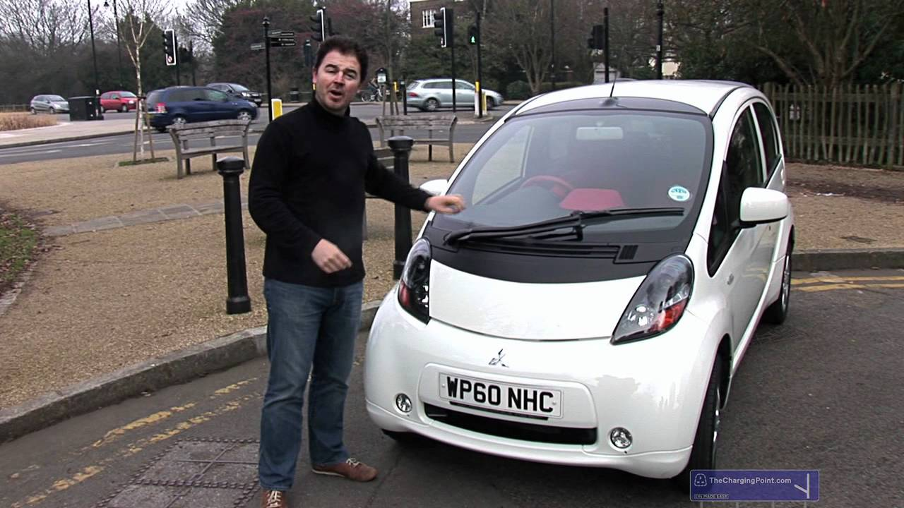James Allen test drives the Mitsubishi i-MiEV