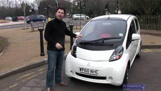 James Allen test drives the Mitsubishi i-MiEV
