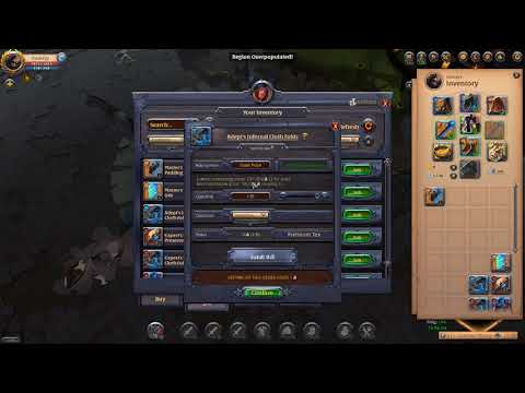 Albion Online - Making Money in Albion - Artifact Flipping and 900k Silver worth of Gambling!