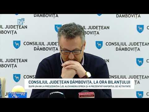 CONSILIUL JUDETEAN DAMBOVITA LA ORA BILANTULUI YOUTUBE