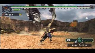Monster Hunter Freedom [62] - Rare Rathalos & Rathian, this quest is NUTS!