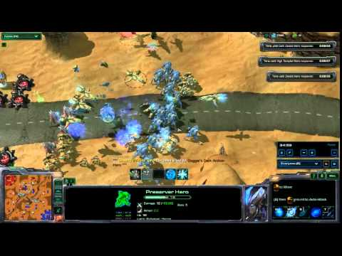 HA3X Official Tournament #1: [G2] Protoss Elite Guard vs. Champions of the Banshee