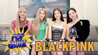 Pop Quiz with BLACKPINK