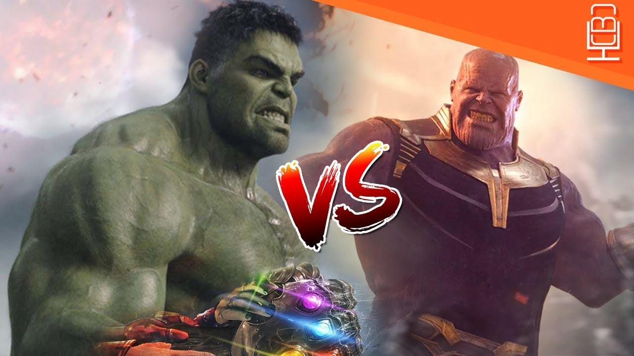 Hulk Vs Thanos in Avengers 4    Thanos Finally Meets his Match