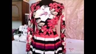 Как шить платье в складку весна - осень .Уроки шитья с Ларисой Грищук.