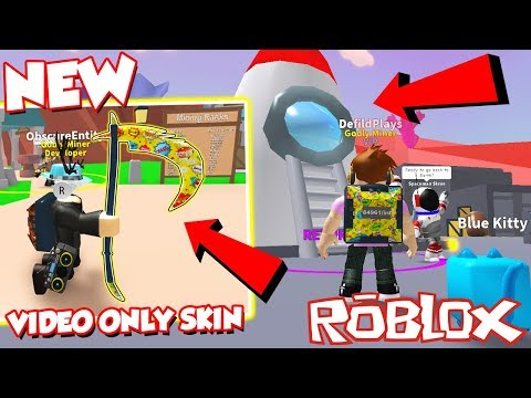 (Codes) NEW SPACE REALM AND VIDEO EXCLUSIVE SKIN CODE In Roblox Mining Simulator! *Insane Money!*