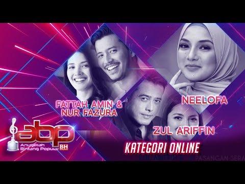 Neelofa, Fattah Amin, Nur Fazura & Zul Ariffin  Kategori Online  ABPBH31