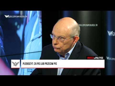 #RZECZoPOLITYCE:  Marek Borowski - Plebiscyt: za PiS lub przeciw PiS