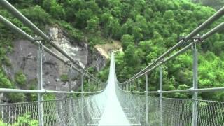 Les passerelles/footbridges du Monteynard (Isère - France)