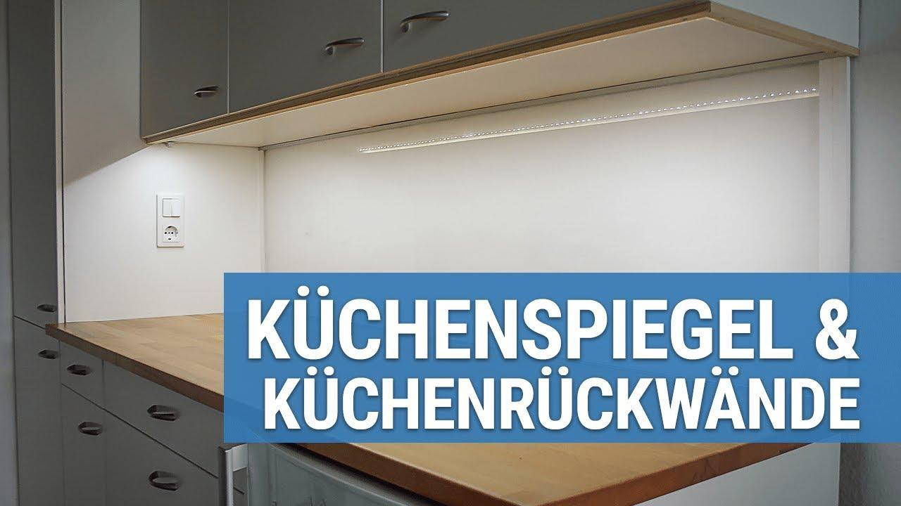 Küchenrückwand & Küchenspiegel nach Maß