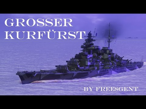World of Warships [deutsch] – Großer Kurfürst | Way to the Top #08