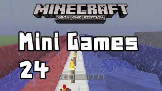 Minecraft Xbox One - Lets Build A Mini Game World - 24 - Slow Race