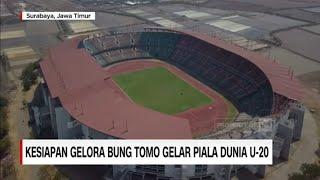 Kesiapan Gelora Bung Tomo Gelar Piala Dunia U-20