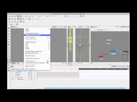 Toon Boom Tip #31 Working in a 3D Space - Week 3 Enabling 3D and 3D Camera Moves (part 2)