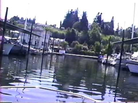 (PART TWO) Ro Helke (RIP), and  Eric Turnbow's Puget Sound & Lake Chelan Boat Trips..06-19-2000