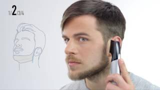 Panasonic Design-Trimmer ER-GD60 - Tutorial Chinstrap Bartstyle
