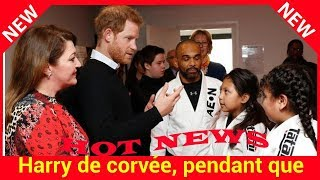 Harry de corvée, pendant que Meghan s'éclate à New York