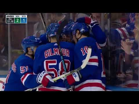 Minnesota Wild vs New York Rangers - February 23, 2018 | Game Highlights | NHL 2017/18