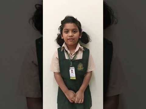 Speech##Healthy eating habits by Aaradhya