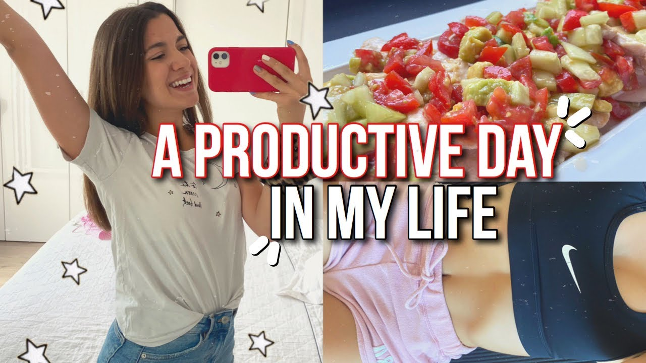 una giornata produttiva insieme #3 | what I eat in a day, workout e preparativi