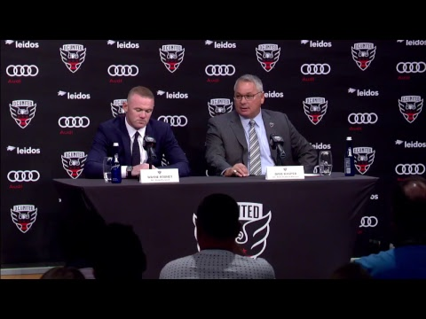 Livestream | Wayne Rooney introductory press conference