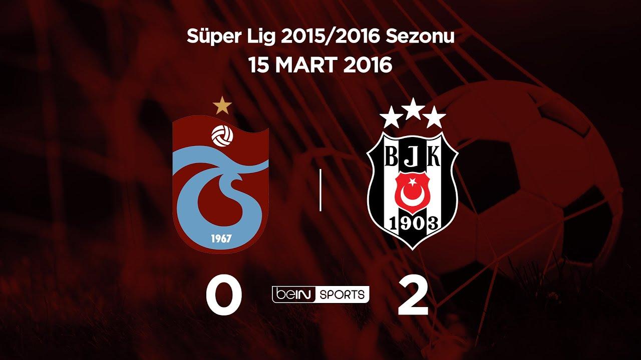 15.03.2016 | Trabzonspor-Beşiktaş | 0-2