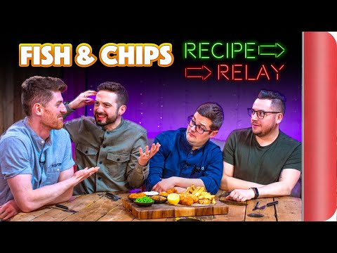 FISH AND CHIPS Recipe Relay Challenge!!   Pass It On S2 E10