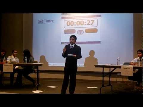 Stars Middle School Debate at Eastern Michigan University