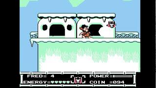 """""""The Flintstones"""" прохождение игры """"Флинстоуны"""" денди,NES [035]"""