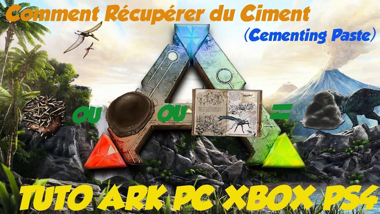 Ciment Wiki Officiel De Ark Survival Evolved