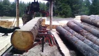 Wood-Mizer LT-40 Дизель 33 л.с. Cупер гидравлика Пилим ЁЛКУ 46 см.